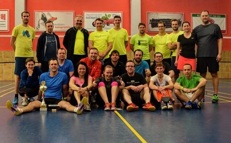 Firemní badmintonový turnaj Aperam Cup