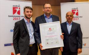 Aperam byl oceněn jako Progresivní zaměstnavatel roku 2017